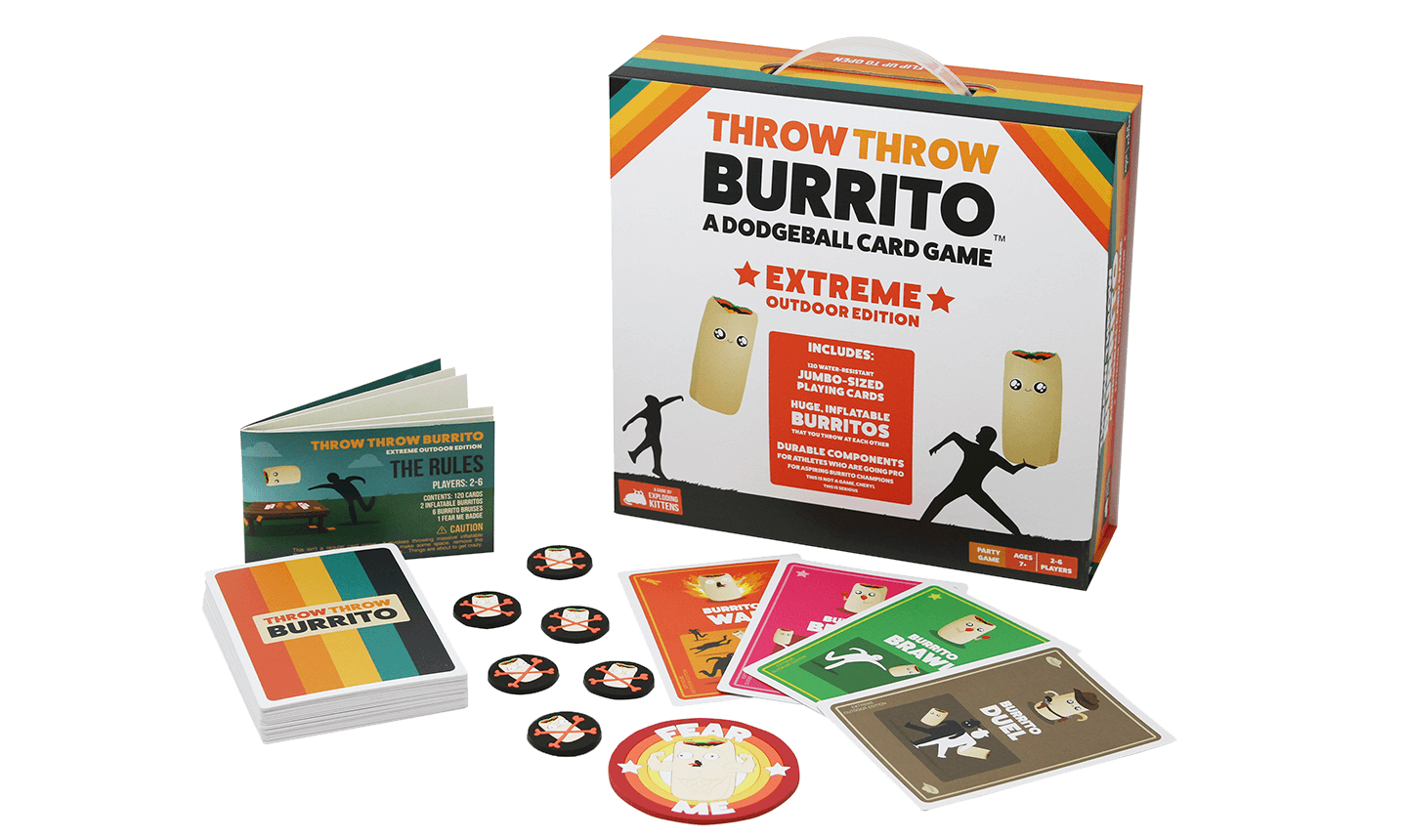 Throw Throw Burrito - Extreme Outdoor Edition-Exploding Kittens-Game Kings