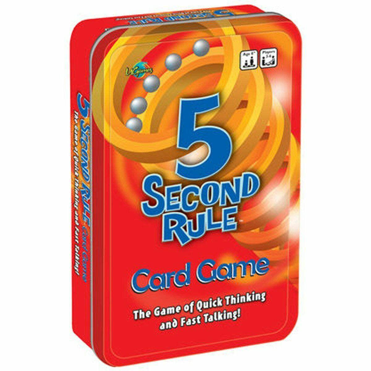 5 Second Rule Tinned Game-University Games-Game Kings
