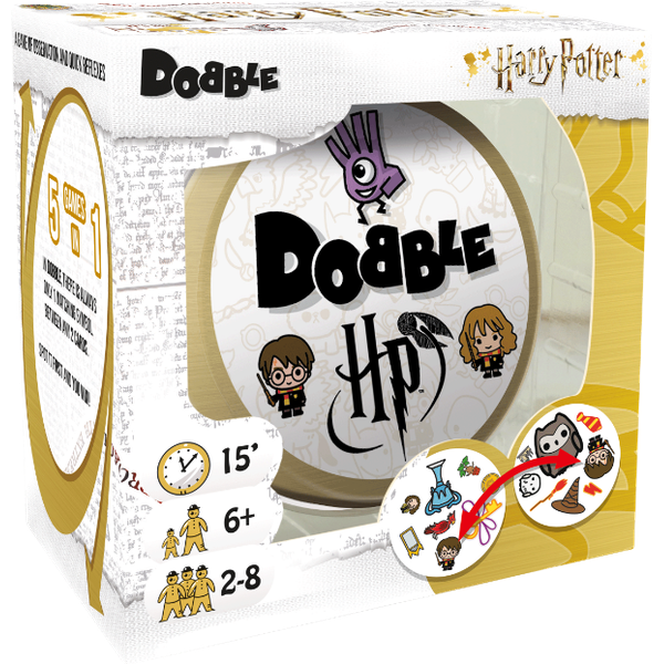 Spot It (Dobble) Harry Potter-Harry Potter-Game Kings