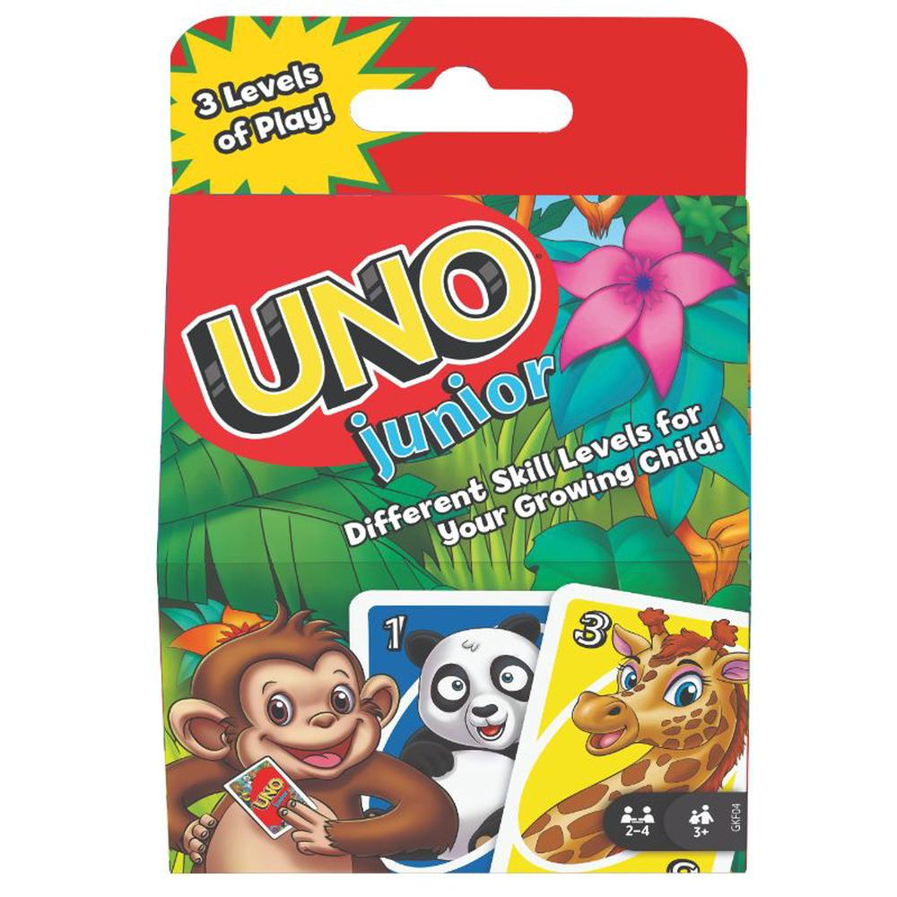 UNO Junior Card Game-Mattel-Game Kings