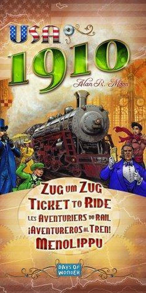 Ticket to Ride Expansion: USA 1910-Game Kings-Game Kings