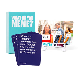 What Do You Meme? Fresh Memes Expansion Pack 1 - Game Kings
