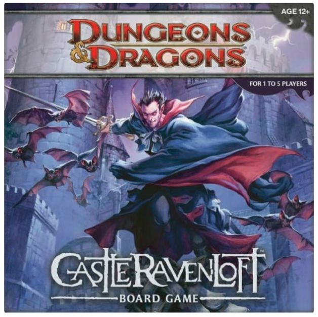 Dungeons & Dragons: Castle Ravenloft Board Game-Dungeons & Dragons-Game Kings