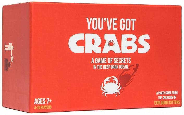 YOU'VE GOT CRABS + FREE IMITATION CRAB EXPANSION-Game Kings-Game Kings