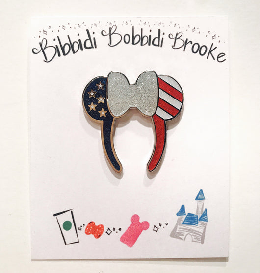 Ready to Ship Patriotic BBB Everyday Magic Pin