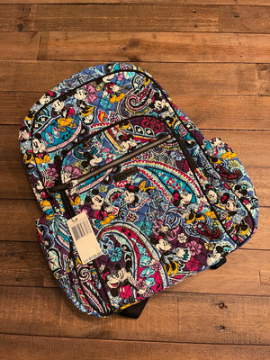 VB Iconic Campus Backpack Mickey's Paisley Celebration