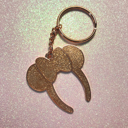 Ready to Ship Rose Gold BBB Everyday Magic Keychain