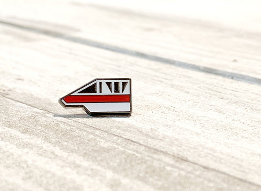 Ready to Ship! Monorail Red BBBand button