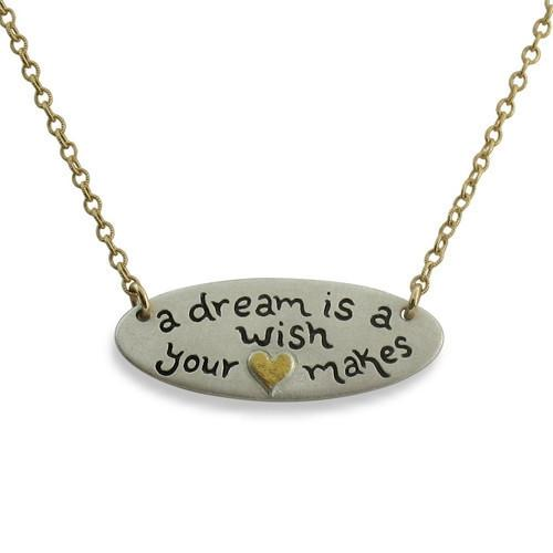 A Dream is a Wish Your Heart Makes - IsabelleGraceJewelry