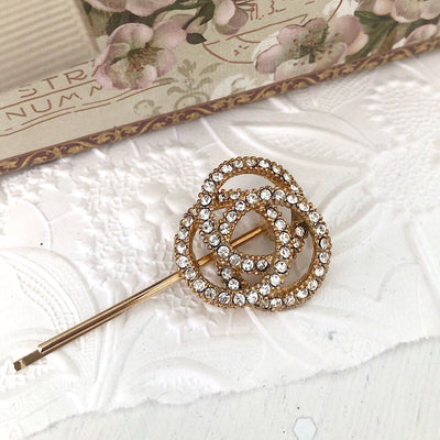 Amelie Swarovski Hair Pin