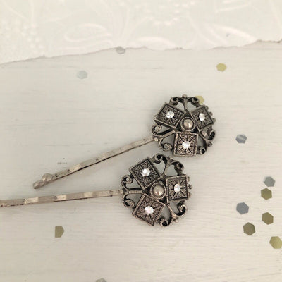 Antique Silver Hair Pins
