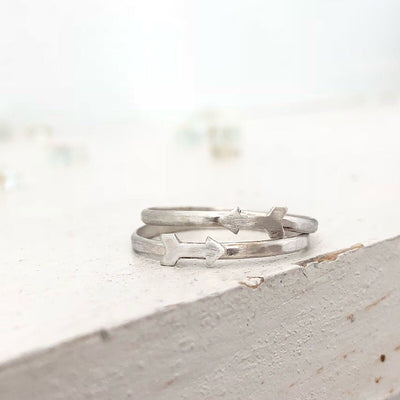 Arrow Thin Stacking Ring - IsabelleGraceJewelry