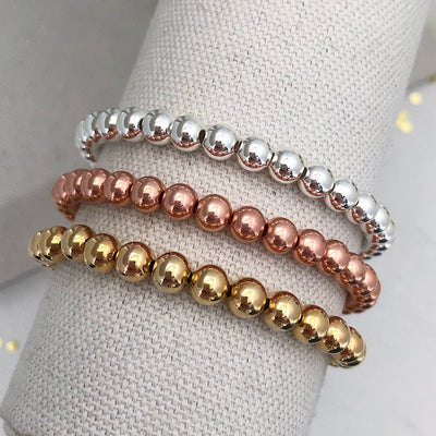 Bead Stacking Bracelets