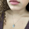 Beauty Within Pebble Necklace - IsabelleGraceJewelry