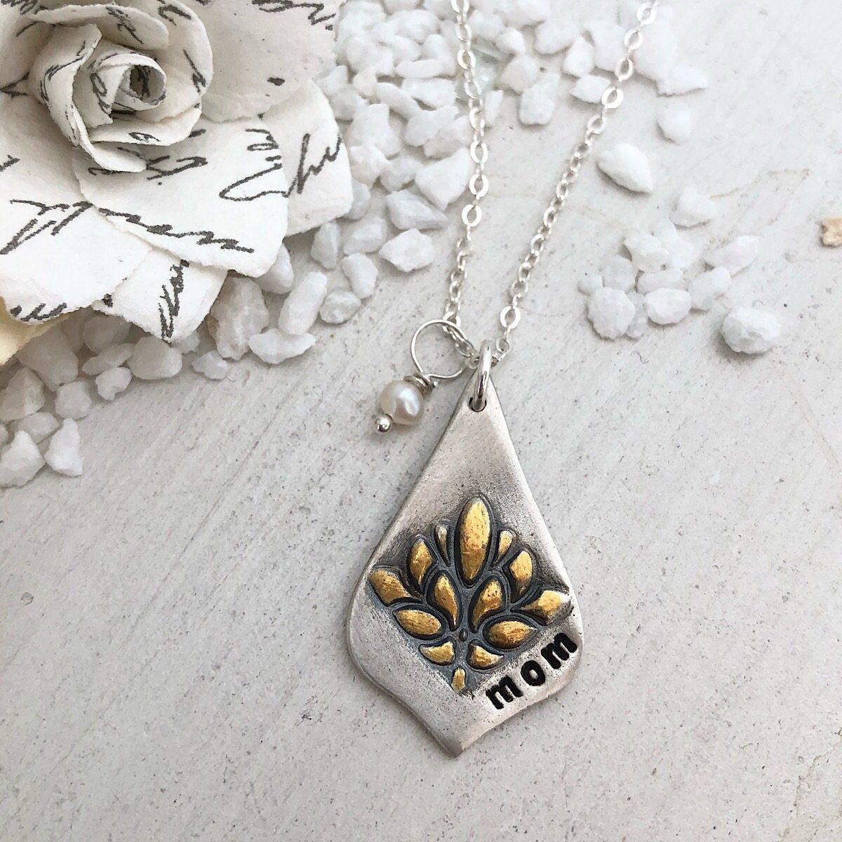 "Bloom ""Lotus"" Necklace - IsabelleGraceJewelry"
