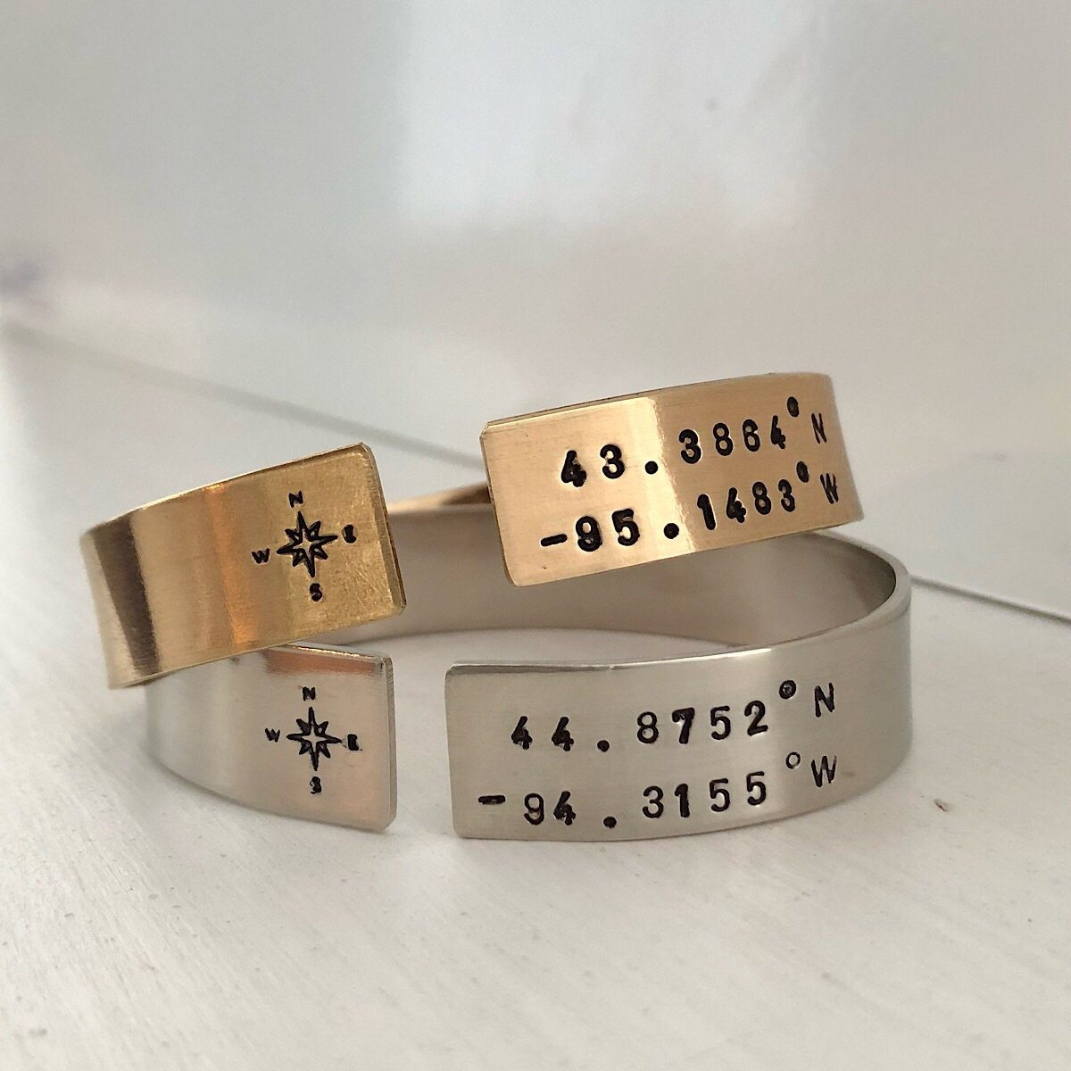 Coordinates Open Cuff - IsabelleGraceJewelry