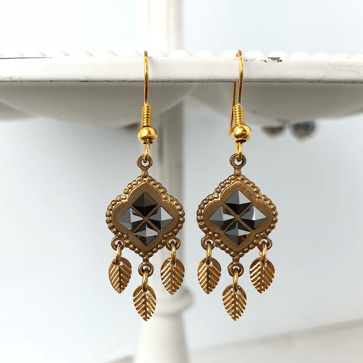 Drina Earrings - IsabelleGraceJewelry