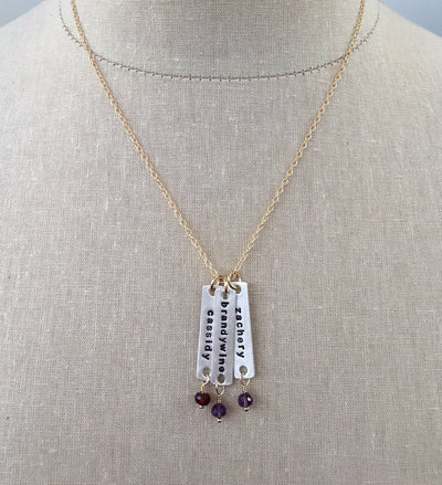 Effortless Name Tag Necklace - IsabelleGraceJewelry