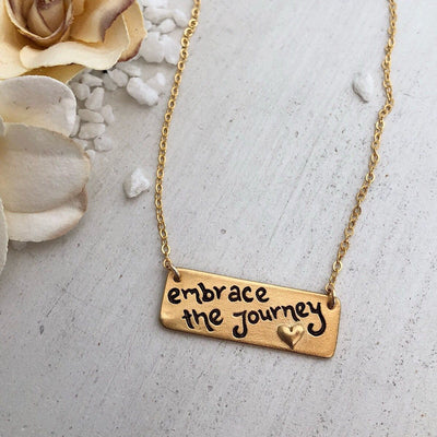 Embrace the Journey - IsabelleGraceJewelry