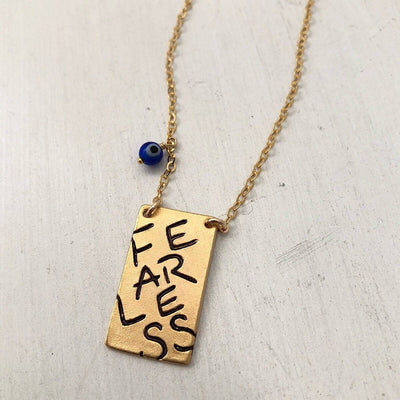 Fearless Necklace - IsabelleGraceJewelry