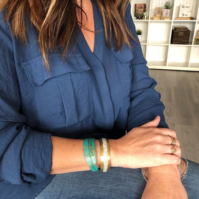 Feather Cuff - IsabelleGraceJewelry