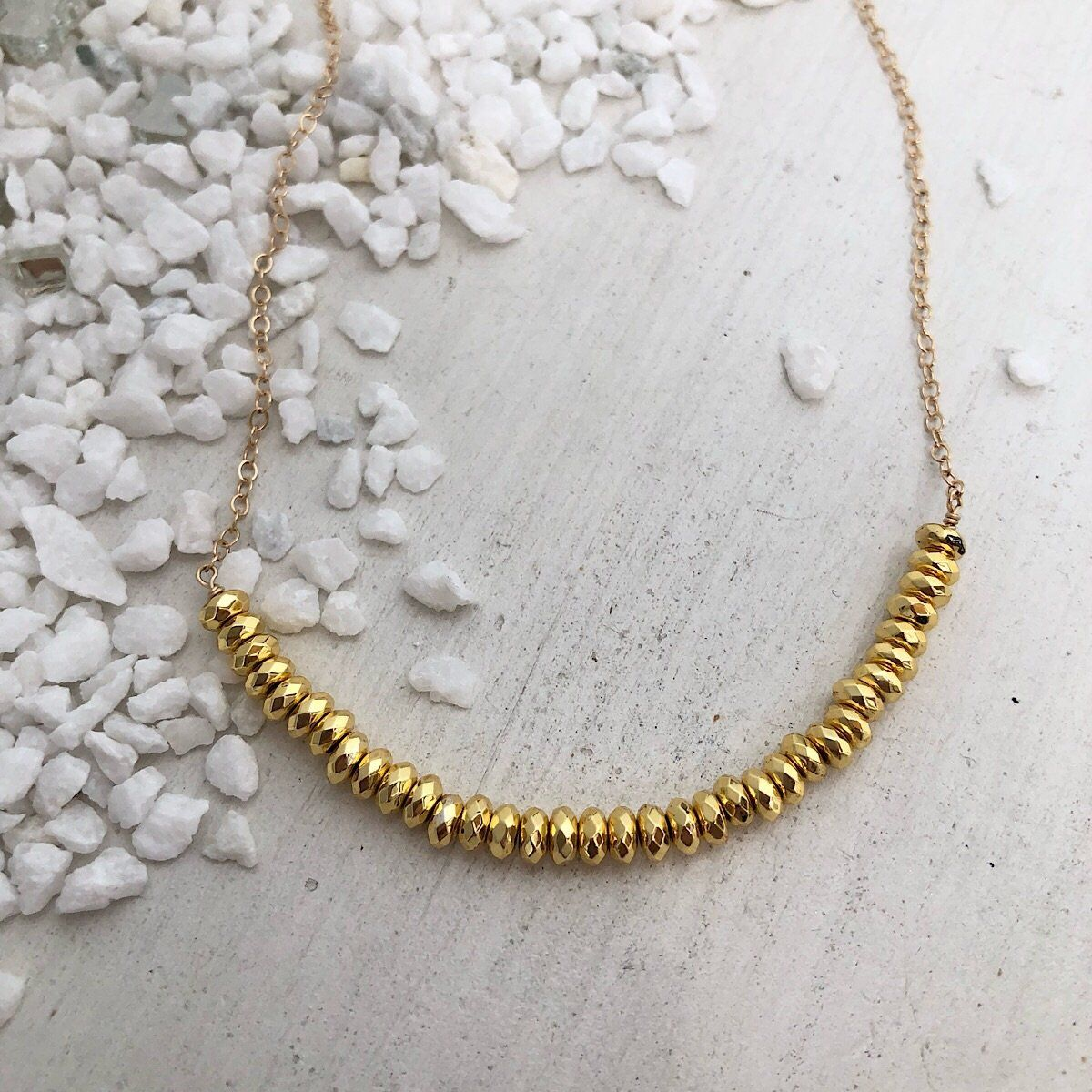 Gold Rush Necklace - IsabelleGraceJewelry