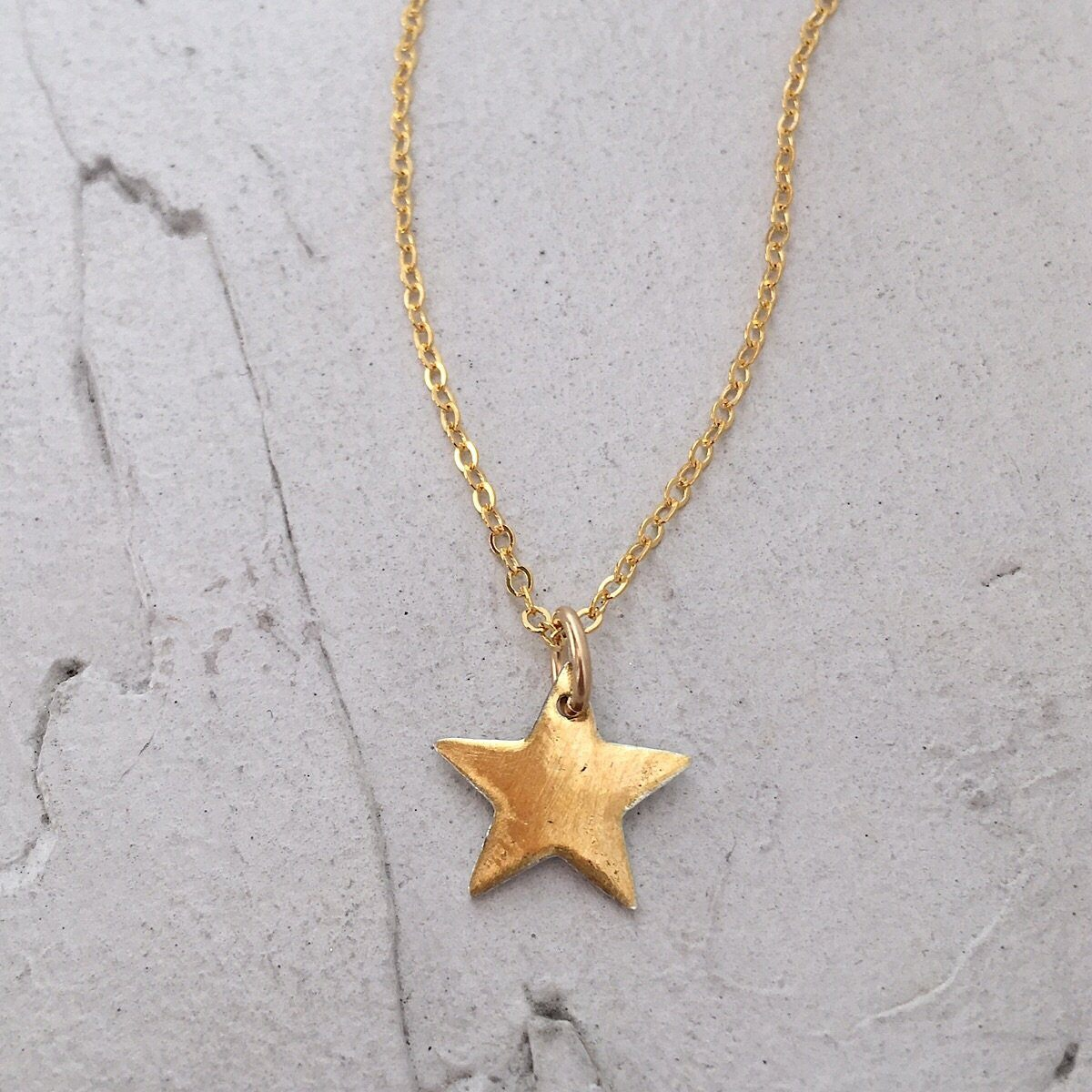 Gold Star Charm - IsabelleGraceJewelry