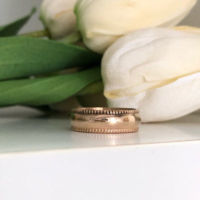 Goldie Wide Band Ring
