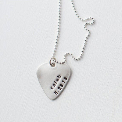 Guitar Pick Necklace - IsabelleGraceJewelry