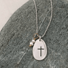 Have Faith Pebble Necklace - IsabelleGraceJewelry