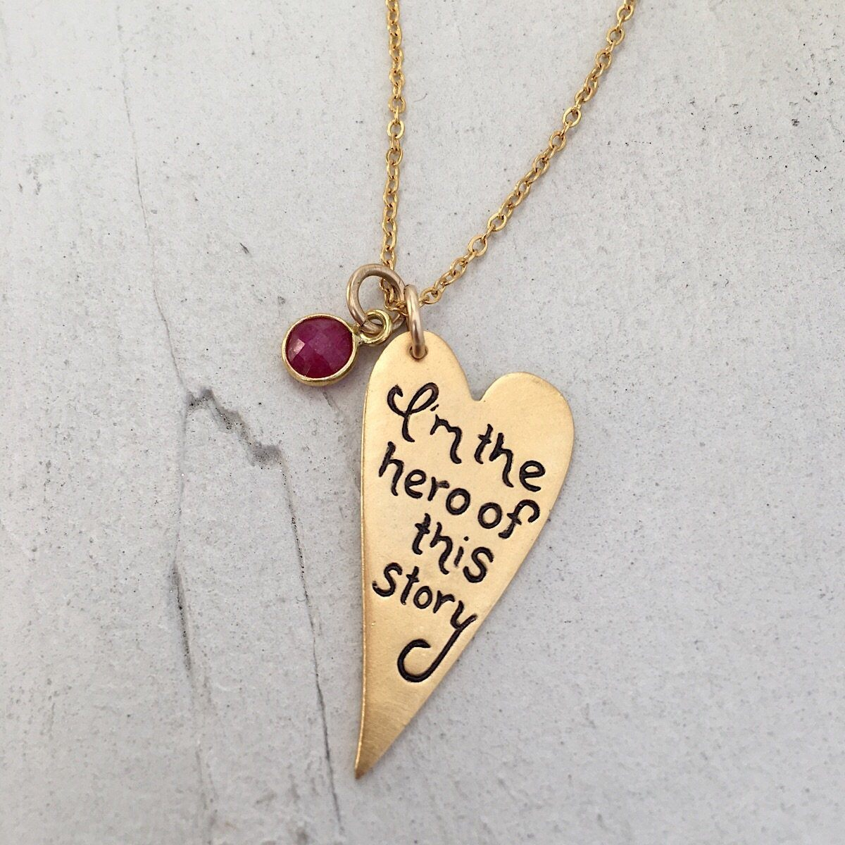 Hero Necklace - IsabelleGraceJewelry