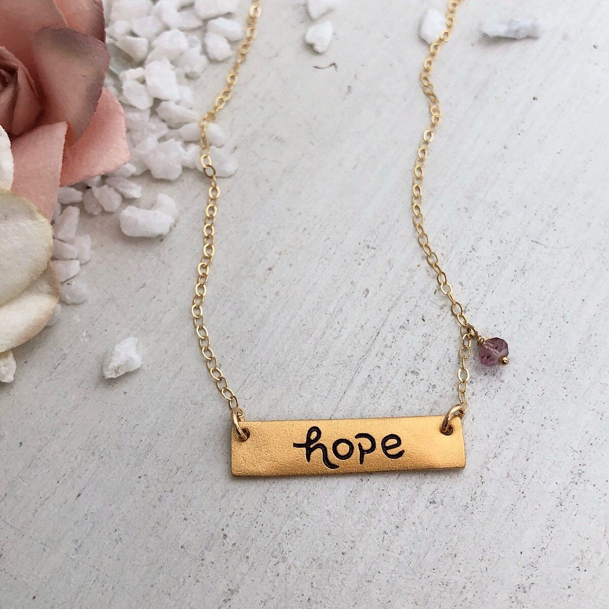 Hope Necklace - IsabelleGraceJewelry