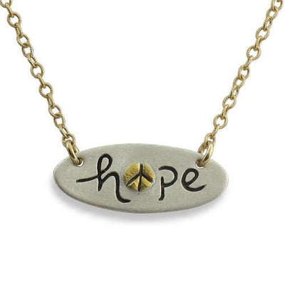 Hope Pendant Necklace - IsabelleGraceJewelry
