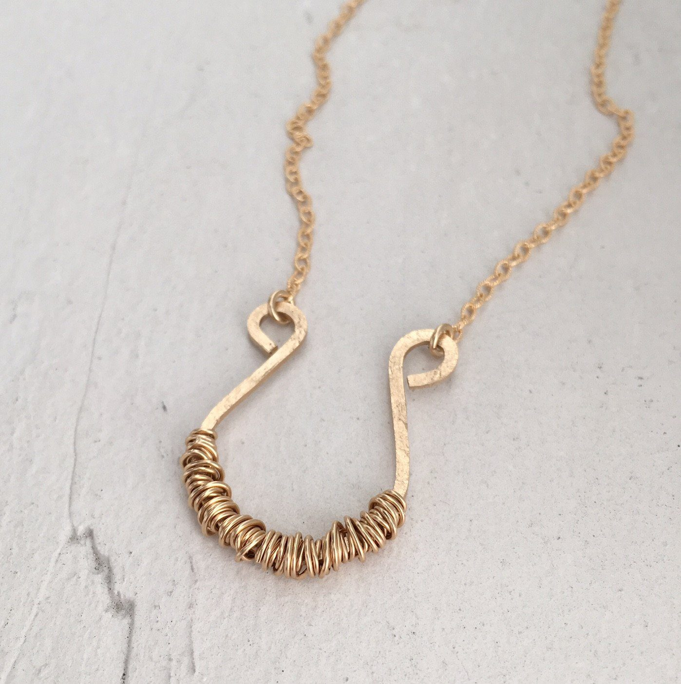 Horseshoe Necklace - IsabelleGraceJewelry
