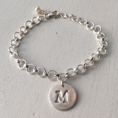 Initial Tag Bracelet - IsabelleGraceJewelry