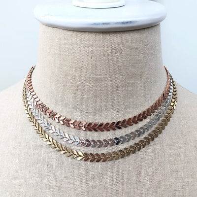 Laurel Layering Necklace - IsabelleGraceJewelry