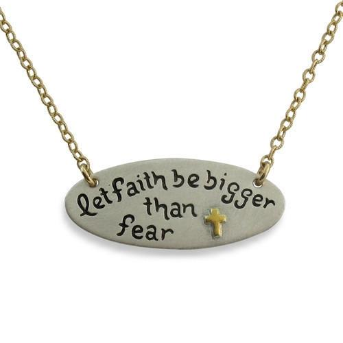 Let Faith be Bigger Than Fear - IsabelleGraceJewelry