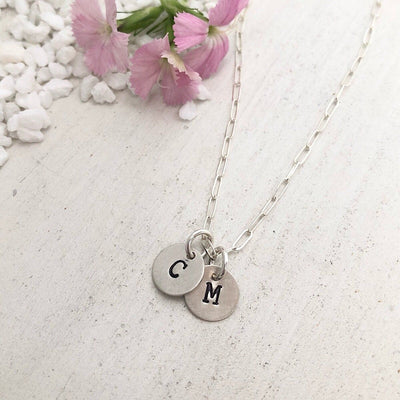Little ID Disc Necklace - IsabelleGraceJewelry