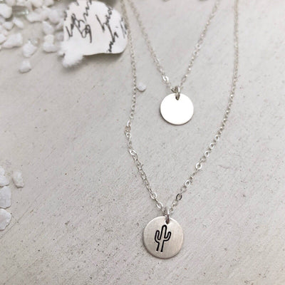 Little ID Layered Symbol Necklace - IsabelleGraceJewelry