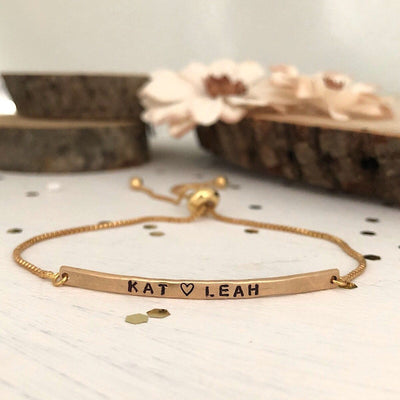 Little ID Personalized Message Bracelet