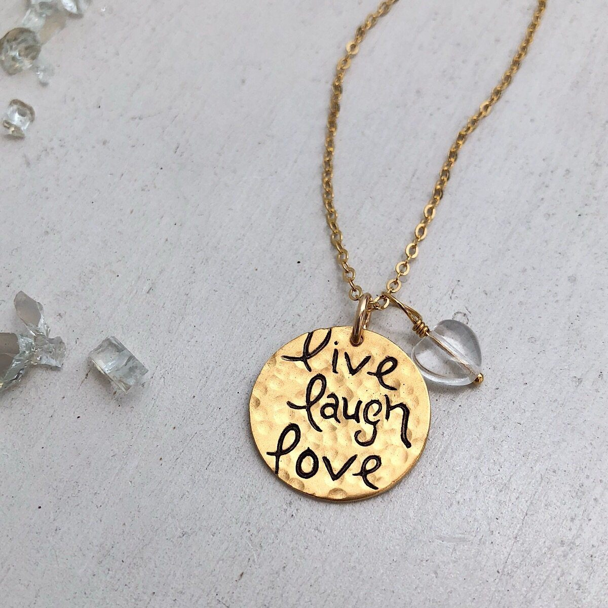Live Laugh Love - IsabelleGraceJewelry