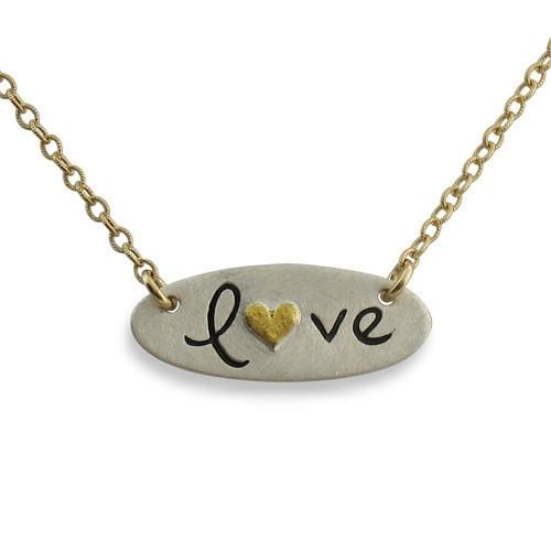 Love Pendant Necklace - IsabelleGraceJewelry