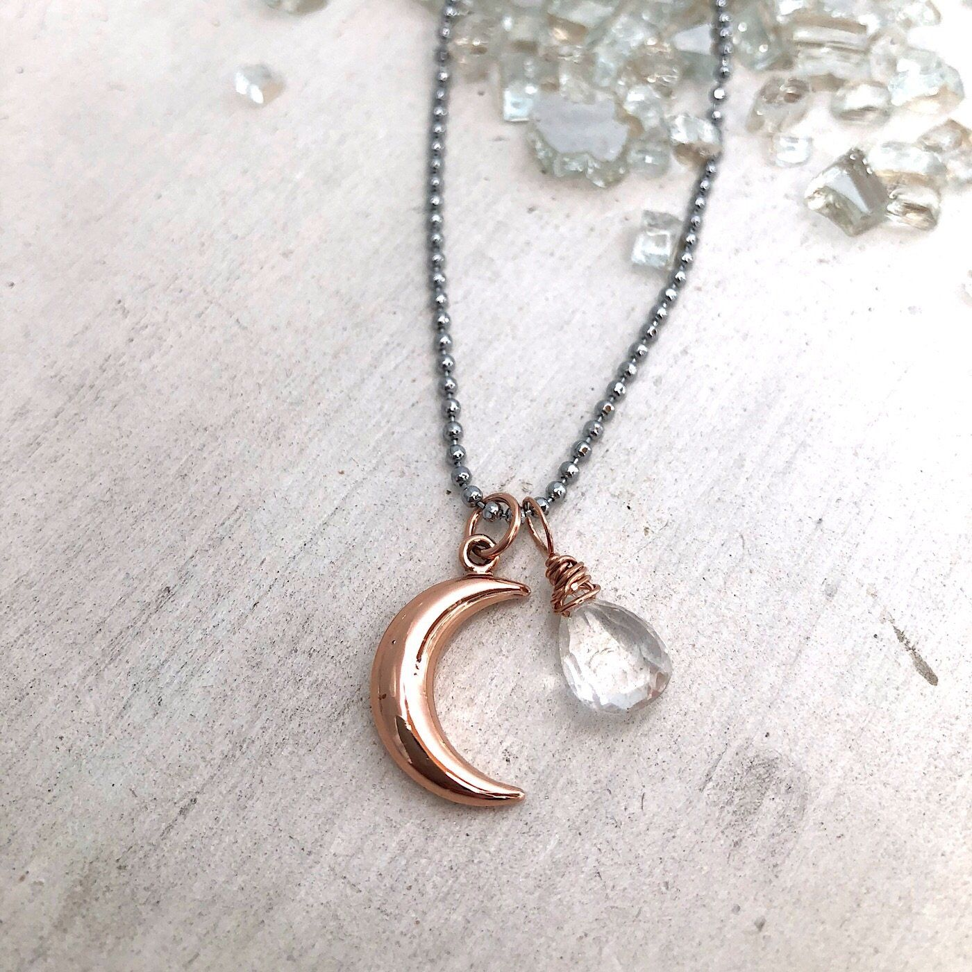 Luna Crystal Necklace - IsabelleGraceJewelry