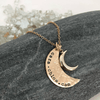 Many Moons Necklace  - IsabelleGraceJewelry