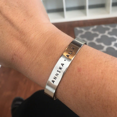 Midi Message Cuff  - IsabelleGraceJewelry