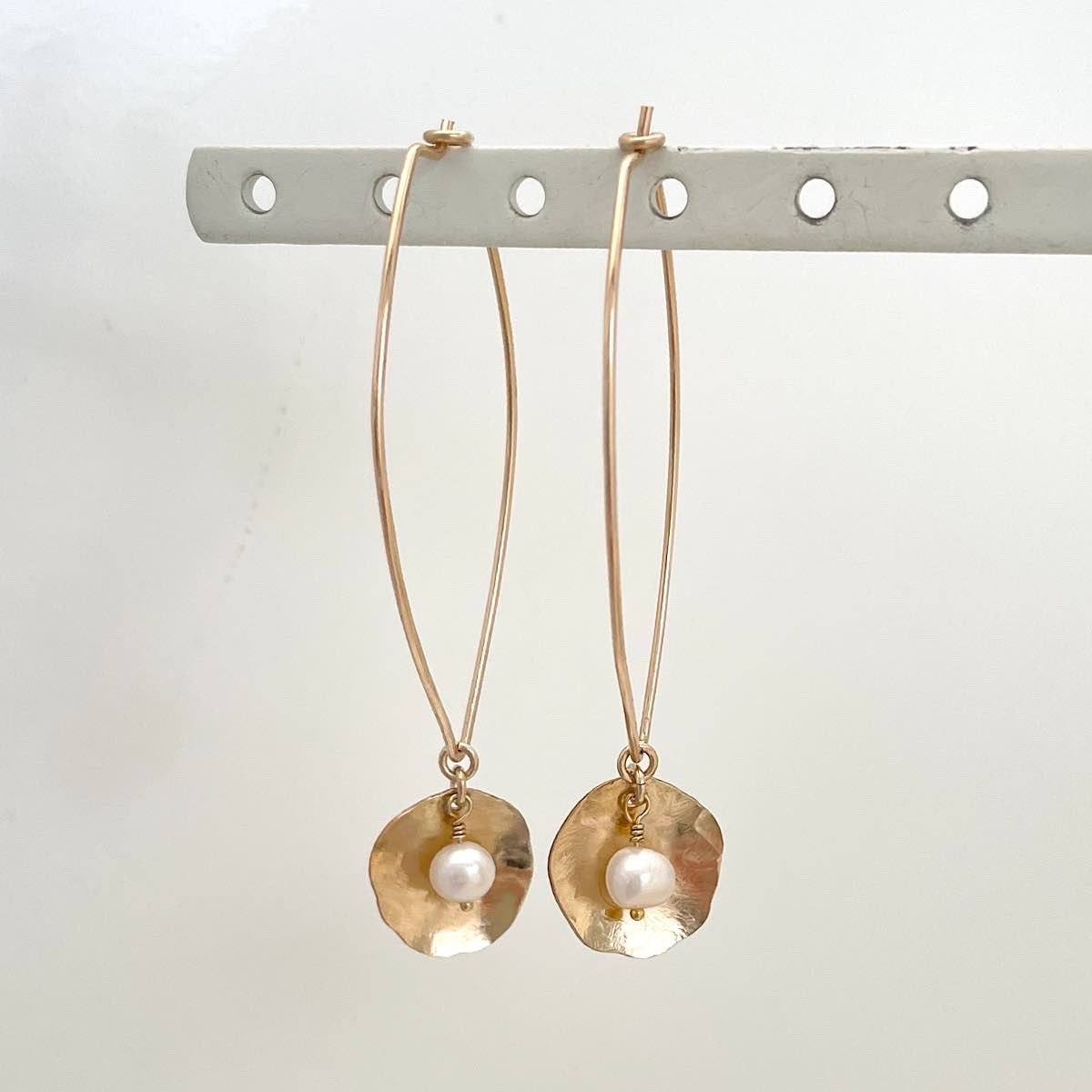 Nested Pearl Earrings