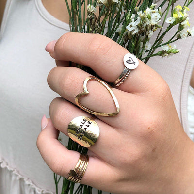 Heart Wide Open Ring