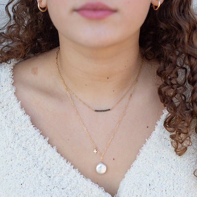 Perfect Pearl Drop Necklace