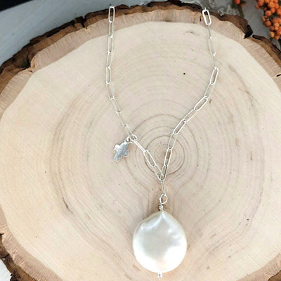 Perfect Pearl Drop Necklace  - IsabelleGraceJewelry