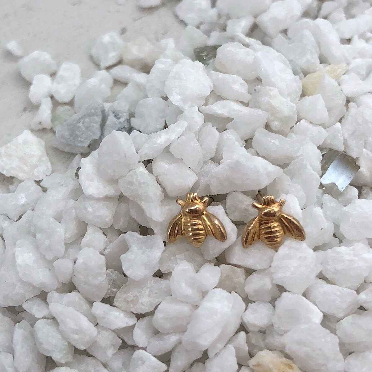 Queen Bee Stud Earrings  - IsabelleGraceJewelry